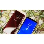 Samsung Galaxy S9/S9+ цвета Burgundy Red