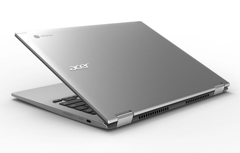 Новые хромбуки от Acer  - Chromebook 13 и 13 Spin с IPS-экраном,  16 ГБ ОЗУ и ценой от $399