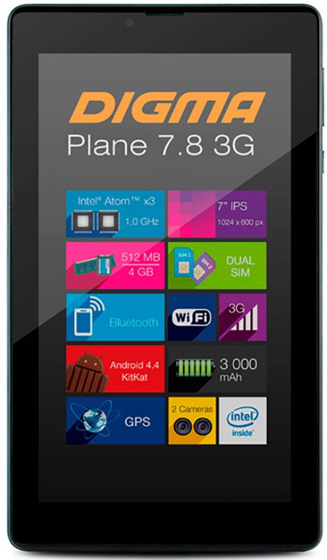 Digma Plane 7.8 3G